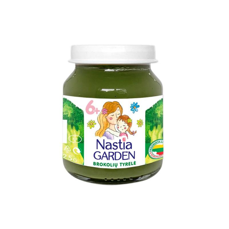 brokolių tyrelė