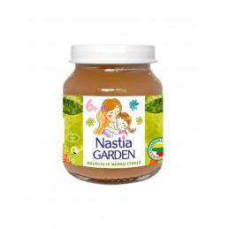 Obuolių ir morkų tyrelė Nastia garden