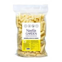 Nastiagarden: kukurūzų lazdelės|sveiki užkandžiai|be konservantų