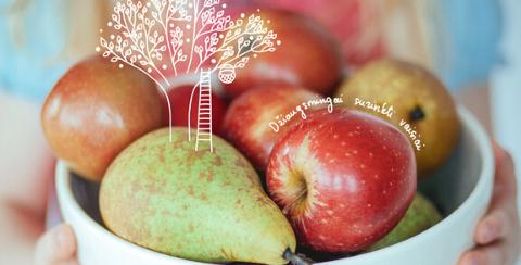 Liofilizuoti vaisiai, uogos ir daržovės